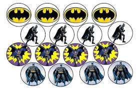 batman cake toppers cake decorating batman edible picture cupcake toppers was sold