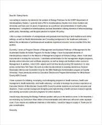professor cover letter best professor cover letter examples