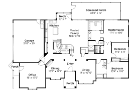 Floor Plans For Ranch Style Homes by 100 Single Level Ranch House Plans Country Style House Plan