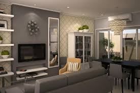 Grey Living Room Interior Design Latest Gallery Photo - Grey living room design ideas