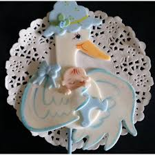 stork baby shower decorations baby shower cake topper stork cake topper stork for baby