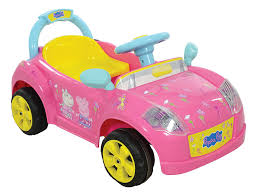 toddler battery car peppa pig m09289 6 v battery operated car toy amazon co uk toys