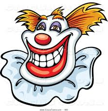 royalty free stock circus designs of clowns