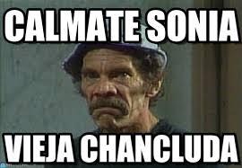 Sonia Meme - calmate sonia don ramon enojado meme en memegen