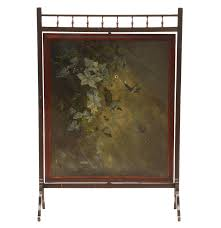 Antique Room Divider Antique Victorian Room Divider Screen With Hand Painted Swiveling