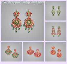 malabar earrings ruby earrings malabar beautify themselves with earrings