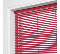 Argos Wooden Venetian Blinds Buy Colourmatch Pvc Venetian Blind 3ft Poppy Red At Argos Co