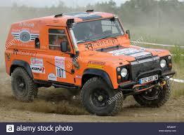 land rover defender 2017 6x6 custom built land rover defender racing at the rallye dresden