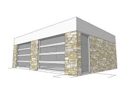 modern garage plans 2 car garage plans modern 2 car garage plan 052g 0007 at