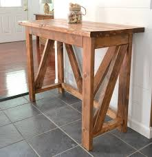 Oak Breakfast Bar Table Simple Breakfast Bar From Natural Wooden Breakfast Bar Tables And