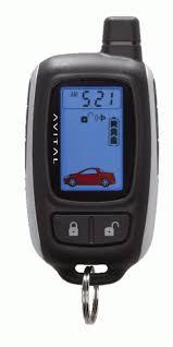 avital 5303 2 way remote start u0026 security alarm w keyless entry