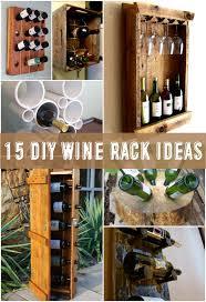 15 amazing diy wine rack ideas the craftiest couple
