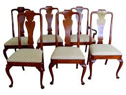 Style Dining Chairs Gorgeous Design Dining Chairs Style By Baker Set Of 6