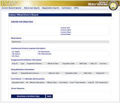 in gov accounts bmv record searches