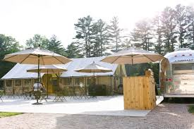 Platform Tents Trappeur Tent By The Lake Huttopia White Mountains Nh 30 Photos
