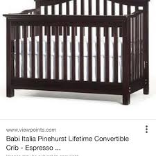 Babi Italia Convertible Crib Find More Babi Italia Convertible Crib Dresser And