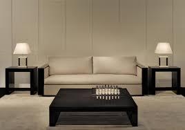 home u0026 apartment opera penthouse cream sofa brown rug bay windows
