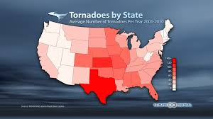 United States Storm Map by A Seasonal U0026 Regional Tornado Breakdown Climate Central