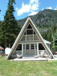 a frame style house a frame style house near wallowa lake or small home garden