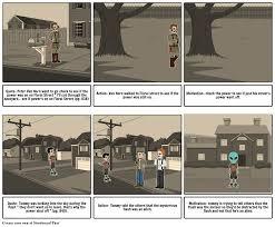 monsters on maple street storyboard by 2023gohmakea