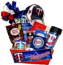 baseball gift basket minnesota baseball gift basket
