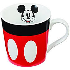 amazon disney mickey mouse mug warmer black red beverage