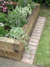 Ideas Garden Garden Path Edging Raised Beds Garden Edging Ideas Garden Path