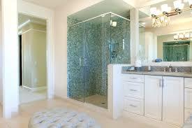 Bathroom Glass Shower 2018 Shower Glass Panel Costs Glass Shower Wall Panels