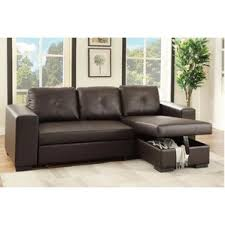leather chaise lounge sofa sleeper sectional sofas you u0027ll love wayfair