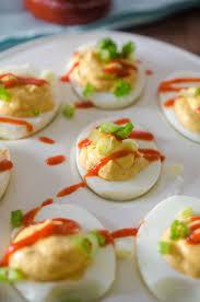 sriracha deviled eggs s ambrosia