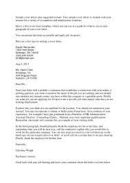 cover letter examples admin assistant executive assistant cover