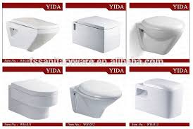 Bathroom Closets India Ceramic Bathroom Save Spaces Wall Hung Toilet Wc Water Closet For