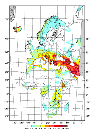 middle east earthquake zone map earthquake engineering resources center