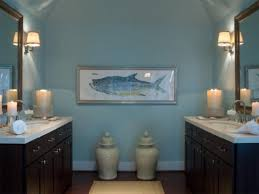 Blue And Beige Bathroom Ideas by Blue And Beige Bathroom Small Round White Strips Light White