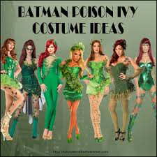 Green Ivy Halloween Costume Love Batman Poison Ivy Costume Ideas Halloween