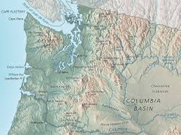 Map Of Washington by Washington Physical Map U2022 Mapsof Net