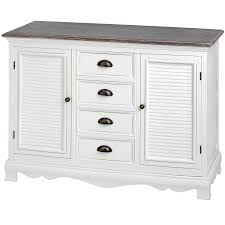 4 Drawer Kitchen Cabinet by Louisiana White Kitchen Hallway Furniture Dresser Console Table