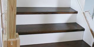 Plywood Stairs Design Remodelaholic On The Rise Adding The Stair Risers Finishing