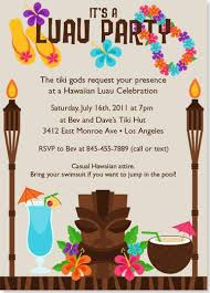 luau invitations tiki luau birthday party invitation wording http www