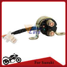 2 wire plug motorcycle starter relay solenoid for suzuki dr200se