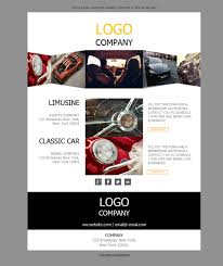 10 free and professional newsletter templates for car dealerships