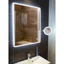 hib vega portrait led illuminated ambient mirror 600 x 800mm