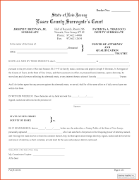 Medical Power Of Attorney Pdf by Power Of Attorney Form Nj Nj Medical Poa Form Proxy Directive Jpg