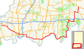 Historic Route 66 Map by Indiana State Road 66 Wikipedia