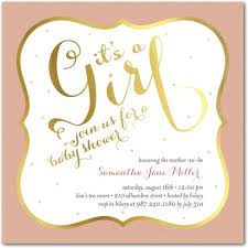 pink and gold baby shower invitations pink and gold baby shower invitations dhavalthakur