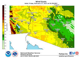 Northern Arizona Map by Pacific Storm Bringing Big Weather Changes To Arizona This Weeke