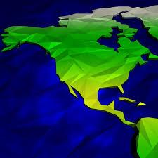 Cartoon World Map by Artstation Cartoon Low Poly World Map Paulsen Design