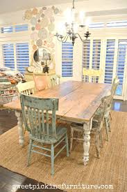 Rustic Dining Room Table Sets by Best 25 Farmhouse Table Chairs Ideas On Pinterest Farmhouse