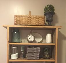Wicker Shelves Bathroom by Bathroom Cool Bathroom Vanity Set With Wicker Storage Basket