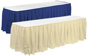 Table Skirts Banquet Linens Hospitality Table Skirts And Covers